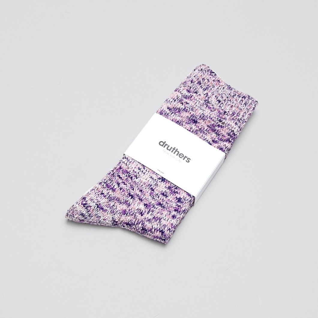 Melange Crew Sock