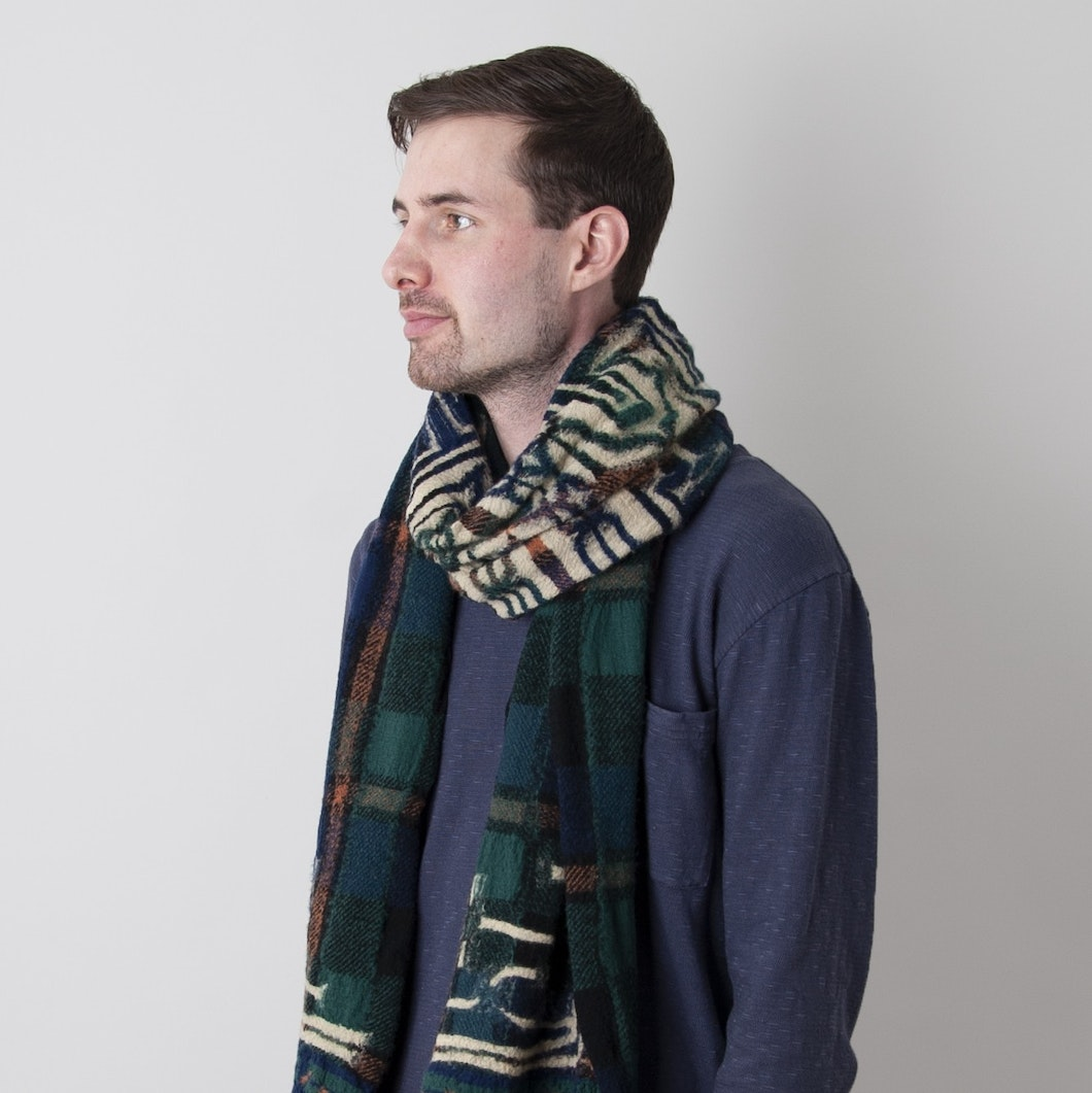 Compressed Wool Scarf