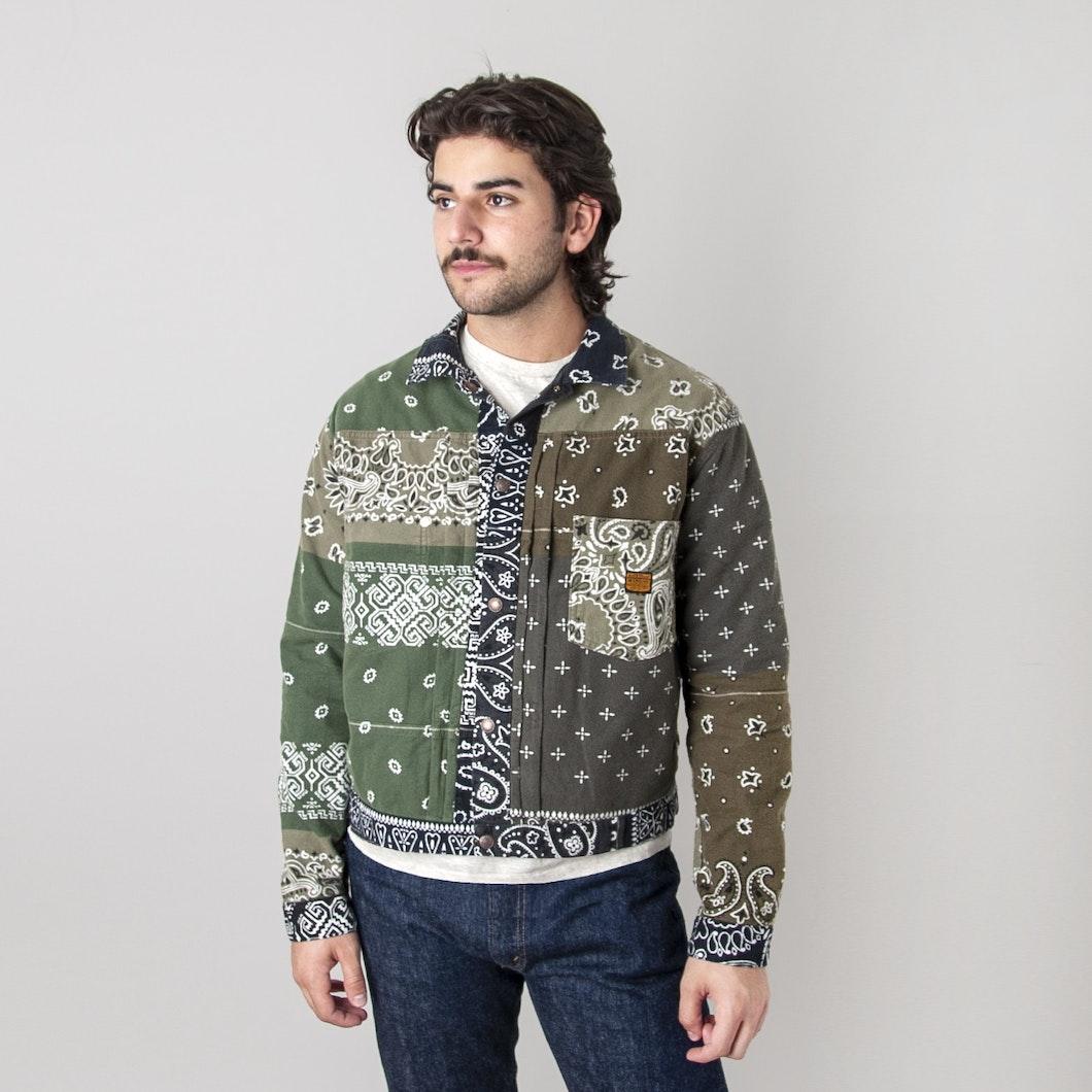 Flannel Reversible Bandana 1st Jacket