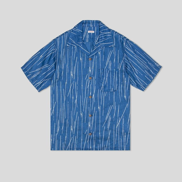 Rain Wabash Dye Aloha Shirt