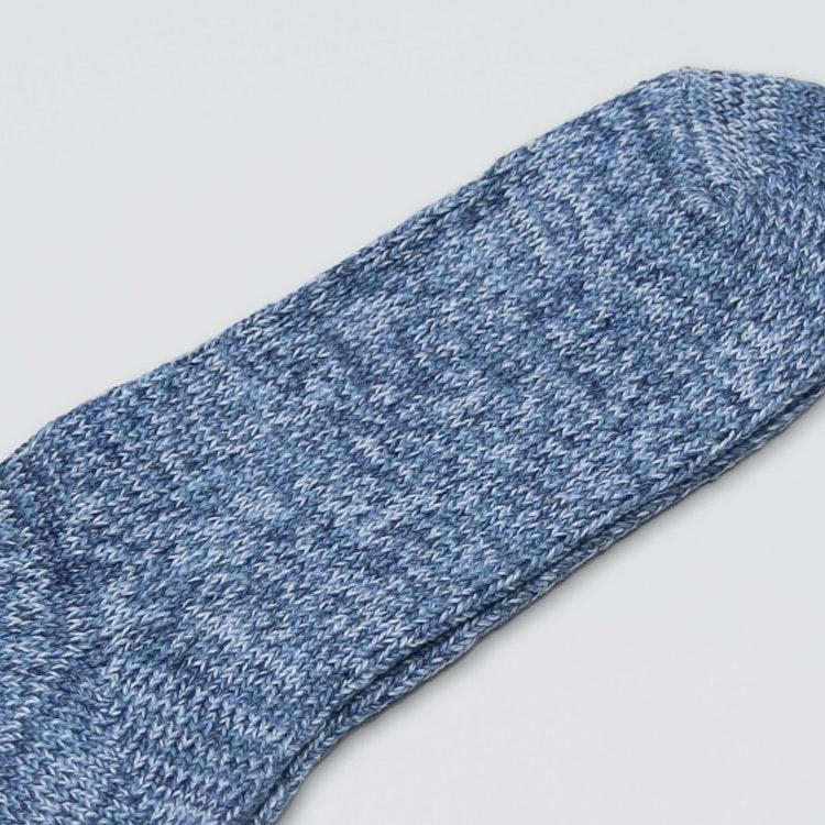 Denim Tone Crew Socks