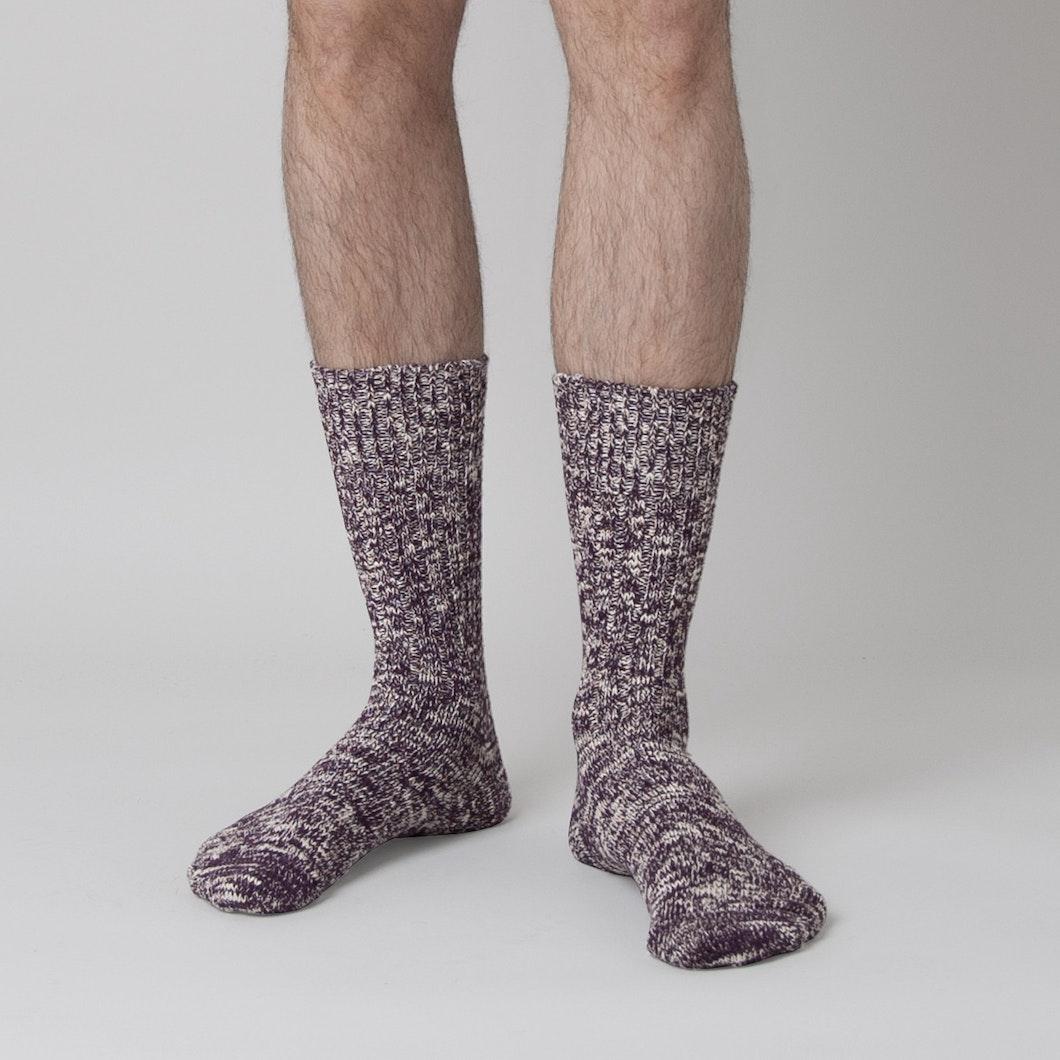 Low Gauge Slub Socks