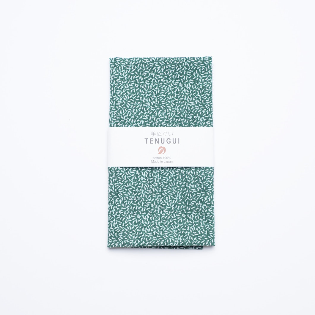 Tenugui Towel Green