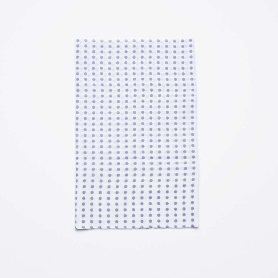 Tenugui Towel Gray Dot