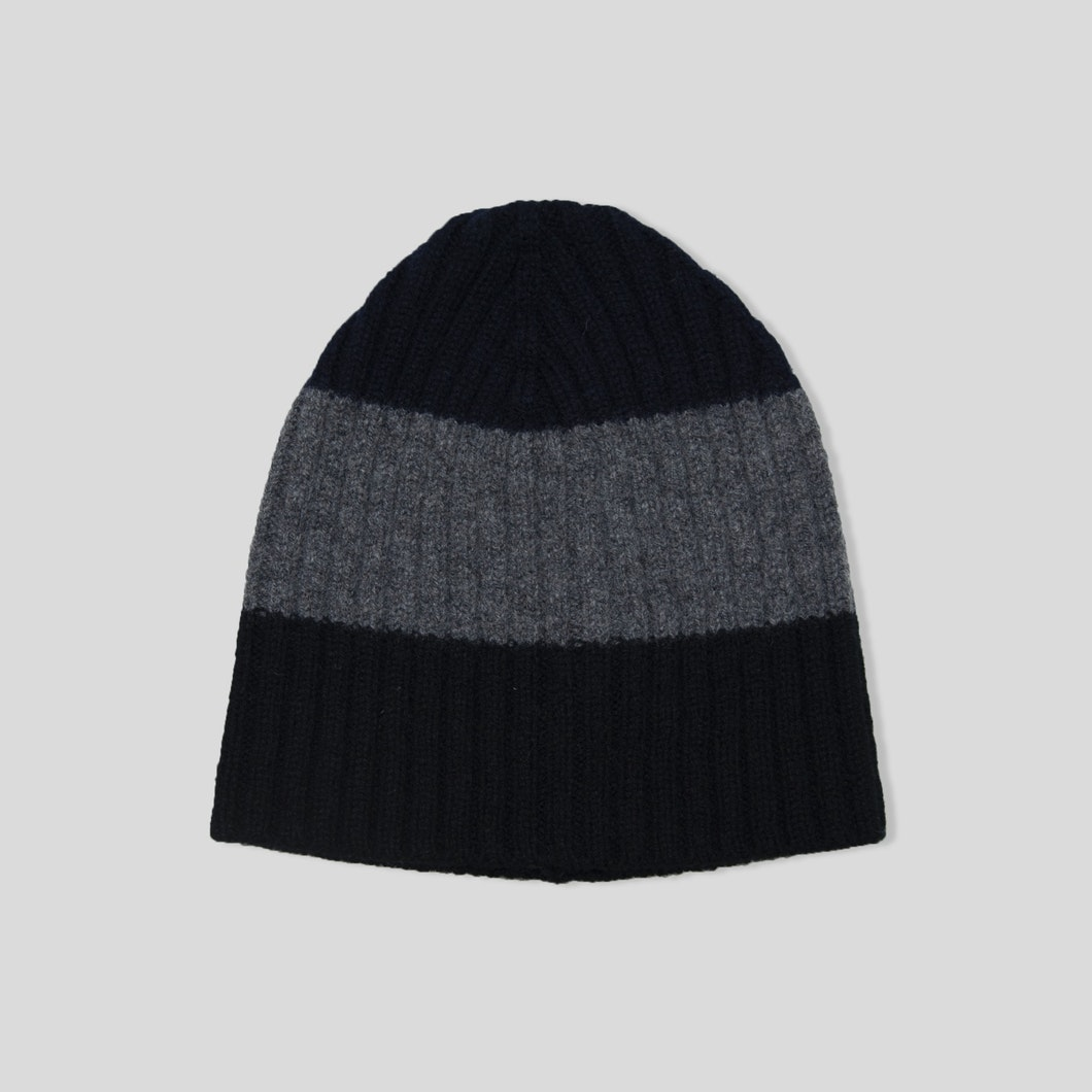 Three Stripe Rib Hat
