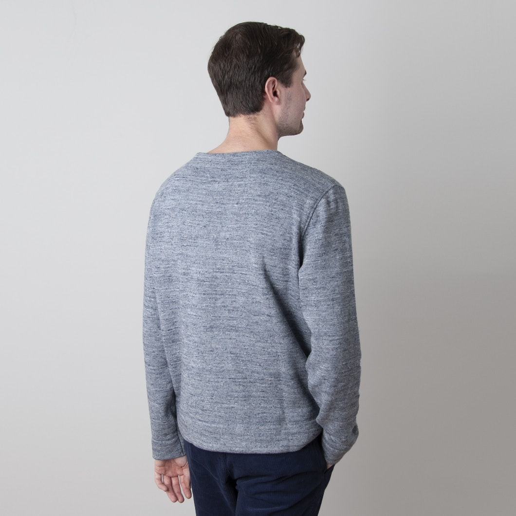 X Cotton Marl Sweatshirt